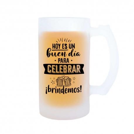 Jarra Hoy es un buen día para celebrar