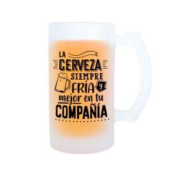 Jarra La cerveza siempre fría