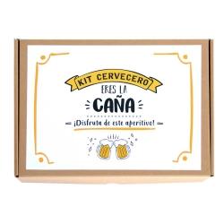 """Kit Cervecero """"Eres la caña"""""""