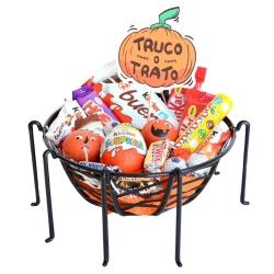 Cesta Halloween chocolate