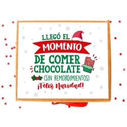 Caja Navidad chocolate
