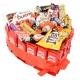 Tarta Kit Kat corazón