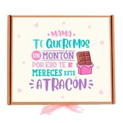 Caja Mamá te queremos un montón