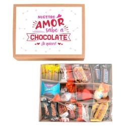 Caja Nuestro amor sabe a chocolate