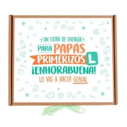 Caja Papá Primerizo chocolate