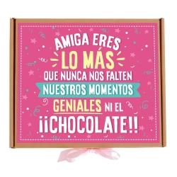 Caja Amiga chocolate