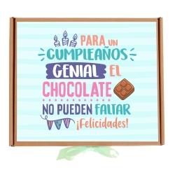 Kit Cumple genial chocolate