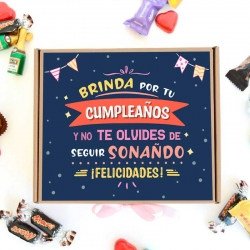 Caja Brinda por tu cumpleaños