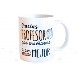 Taza Gracias Profesor