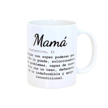 Taza Mamá diccionario
